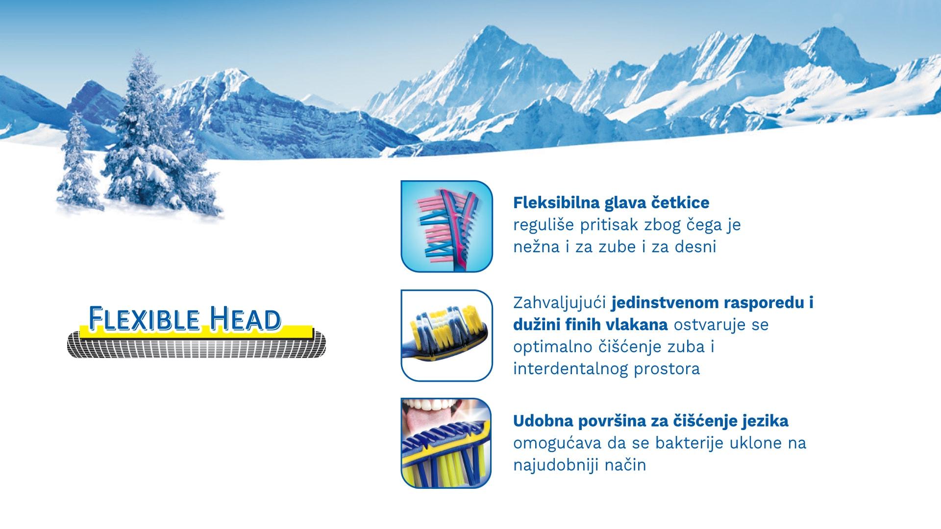 Četkica za zube TRISA Flexible Head 3