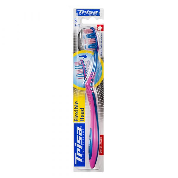 Četkica za zube TRISA Flexible Head 3 Soft