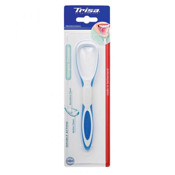 Čistač jezika TRISA Tongue Cleaner Double Action