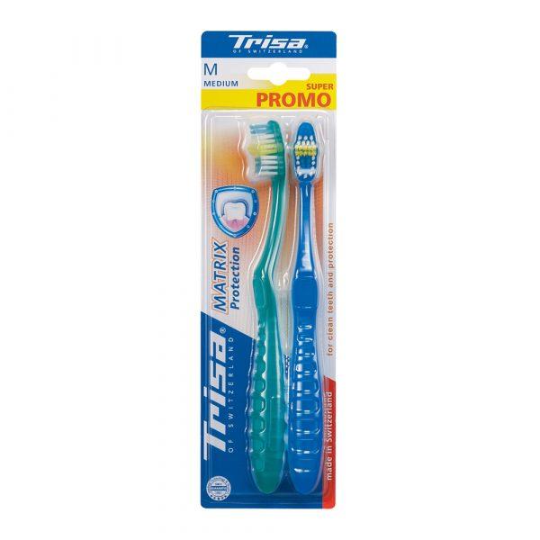 Četkice za zube TRISA Matrix Protection Twin Pack Medium