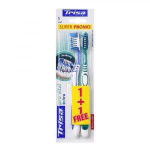 Četkice za zube TRISA Extra Pro Vital Duo Soft