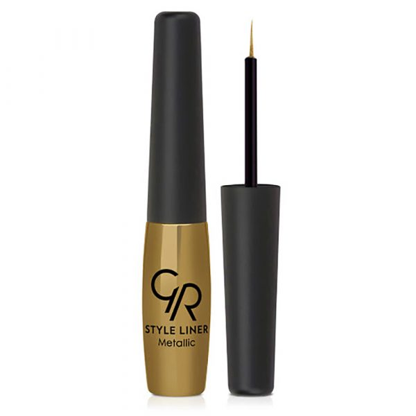 Ajlajner sa metalik efektom GOLDEN ROSE Metallic Style Eyeliner