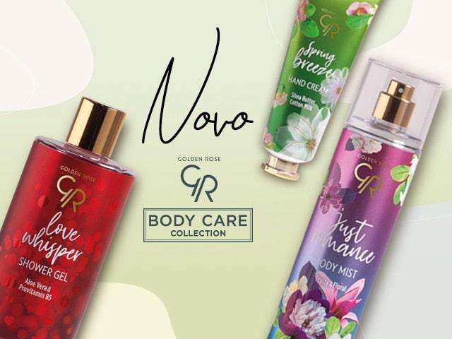 Golden Rose Body Care kolekcija proizvoda