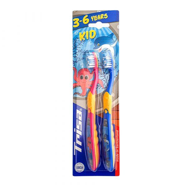 Dečije četkice za zube TRISA Kid Duo 639796