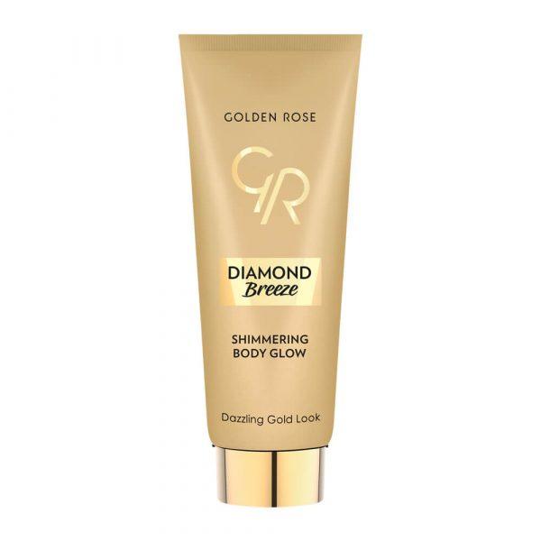 Sjaj za telo GOLDEN ROSE Diamond Breeze Shimmering Body Glow