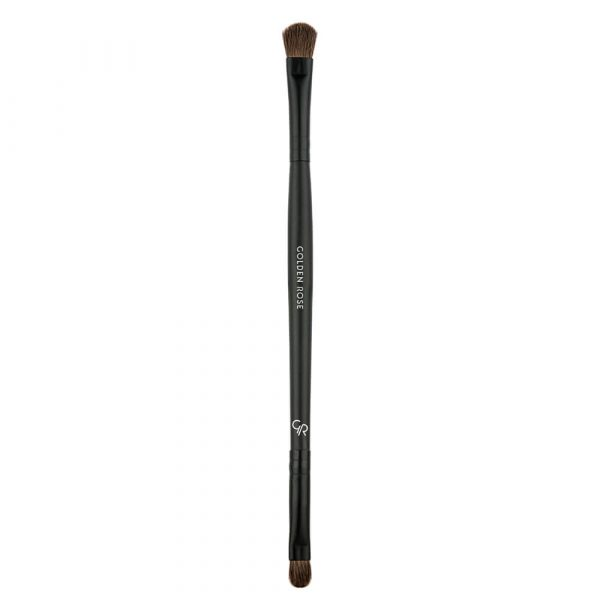 Dvostrana četkica za senku GOLDEN ROSE Dual Ended Eyeshadow Brush