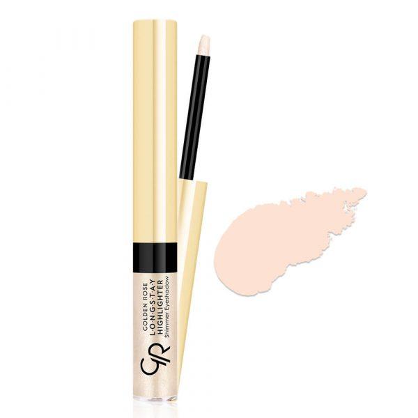 Tečna senka i hajlajter GOLDEN ROSE Longstay Highlighter Shimmer Eyeshadow