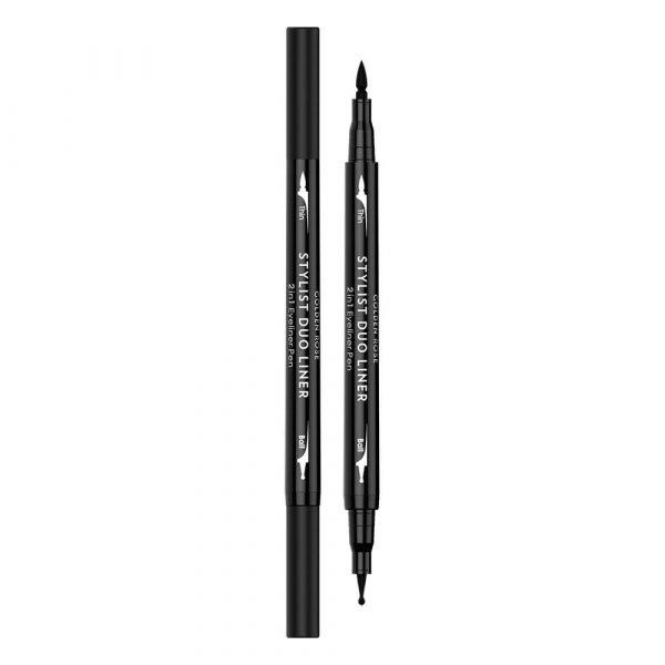 Dvostrani ajlajner GOLDEN ROSE Stylist Duo Liner 2in1 Pen