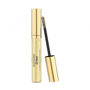 Zlatna gliter maskara GOLDEN ROSE Diamond Breeze Glitter Top Coat Mascara 24k Gold