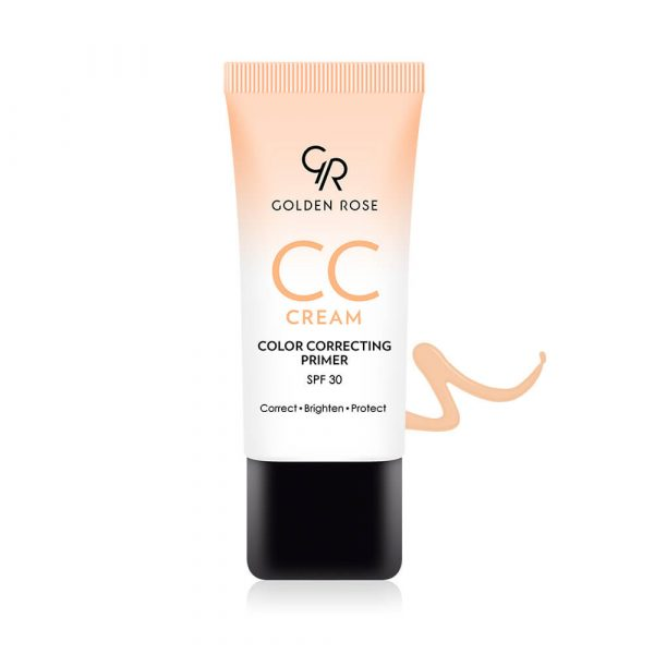 CC krema i prajmer GOLDEN ROSE CC Cream Color Correcting Primer – Orange
