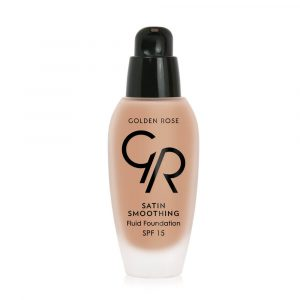 Tečni puder GOLDEN ROSE Satin Smoothing Fluid Foundation (SPF15)
