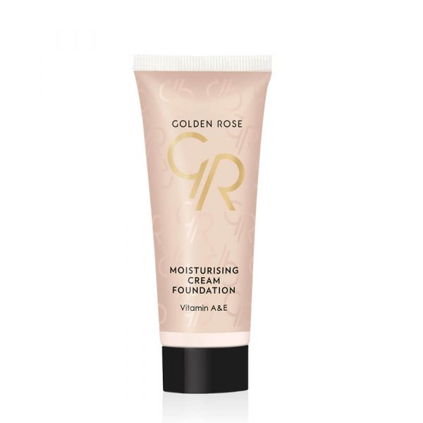 Tečni puder GOLDEN ROSE Moisturising Cream Foundation
