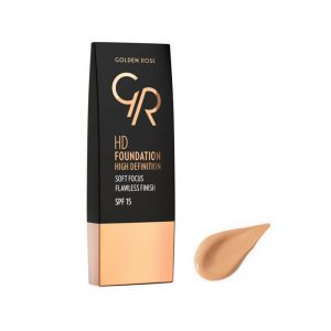 Tečni puder GOLDEN ROSE HD Foundation