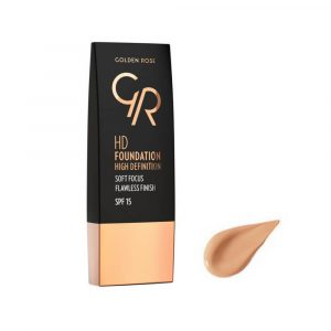 Tečni puder GOLDEN ROSE HD Foundation
