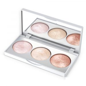 Hajlajter paleta GOLDEN ROSE Strobing Highlighter Palette