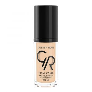 Tečni puder i korektor GOLDEN ROSE Total Cover 2in1 Foundation & Concealer