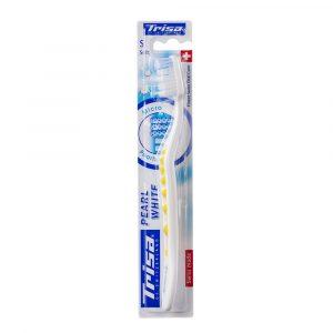 Četkica za zube TRISA Pearl White Soft New