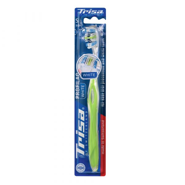 Četkica za zube TRISA Profilac White Soft