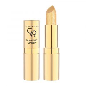 Ruž za usne GOLDEN ROSE Diamond Breeze Shimmering Lipstick