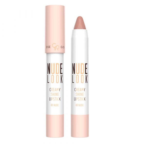Ruž za usne GOLDEN ROSE Nude Look Creamy Shine Lipstick