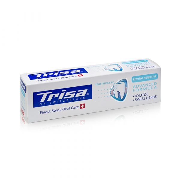 Pasta za zube TRISA Revital Sensitive Toothpaste Box