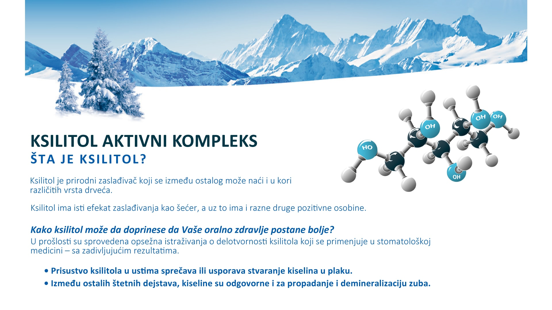 Trisa Xylitol Banner