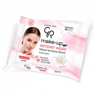 Maramice za skidanje šminke GOLDEN ROSE Make-Up Remover Wipes