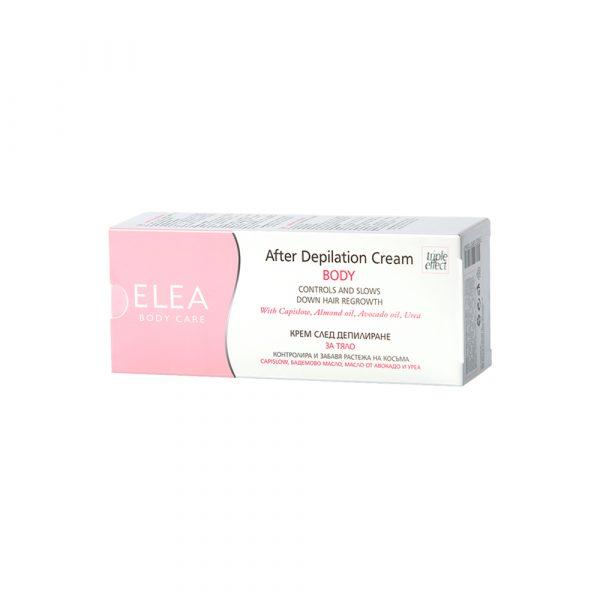 ELEA After Depilation Cream Body