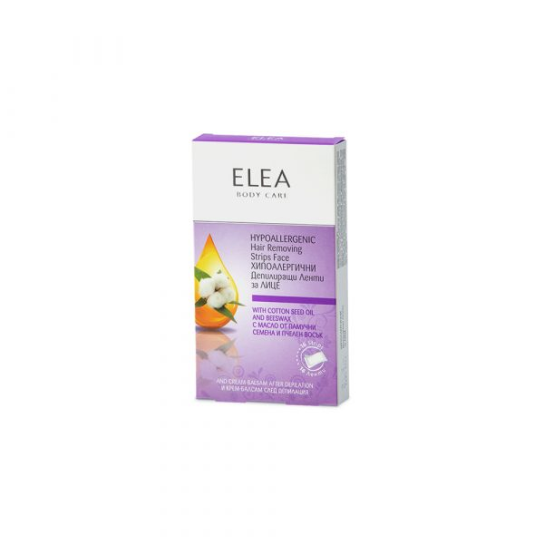 ELEA Hypoallergenic Hair Removing Strips Face
