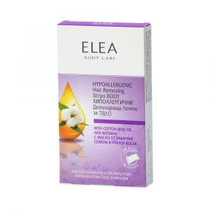 ELEA Hypoallergenic Hair Removing Strips Body