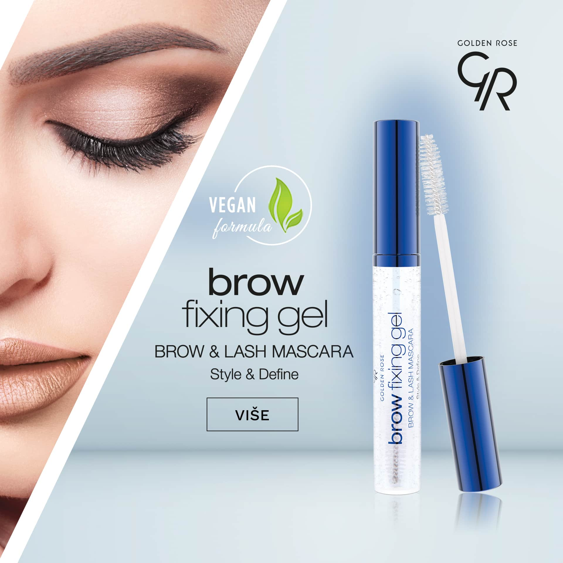 Golden Rose Brow Fixing Gel Brow Lash Mascara mobile