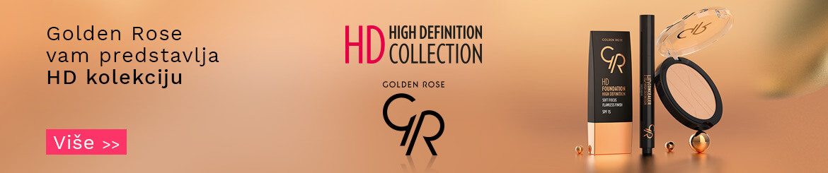 Golden Rose HD High Definition kolekcija