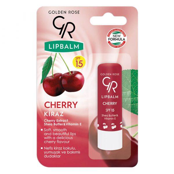 Balsam za usne GOLDEN ROSE Lip Balm Cherry SPF15
