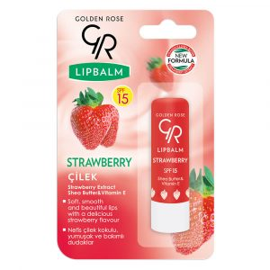 Balsam za usne GOLDEN ROSE Lip Balm Strawberry SPF 15