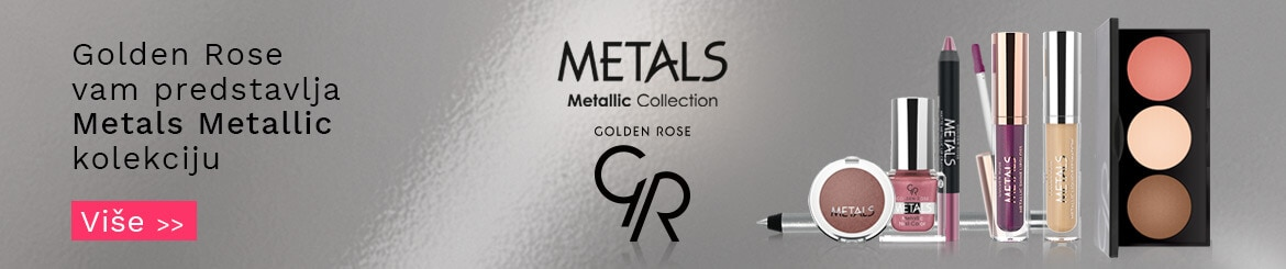 Golden Rose Metals kolekcija
