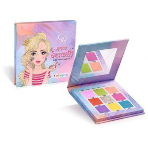 Paleta senki za oči GOLDEN ROSE Miss Beauty Colorpop Eyeshadow Palette