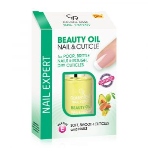 Lak za negu noktiju Golden Rose Nail Expert Beauty Oil And Cuticle
