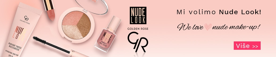 Golden Rose Nude Look kolekcija