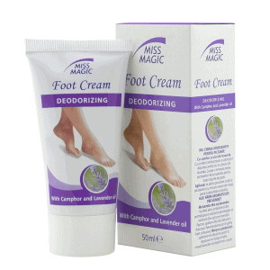 Mirisna krema za stopala MISS MAGIC Foot Cream Deodorizing