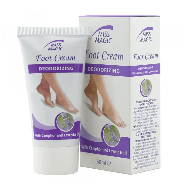 Mirisna krema za stopala MISS MAGIC Foot Cream Deodorizing