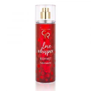 Sprej za telo Golden Rose Body Mist Love Whisper